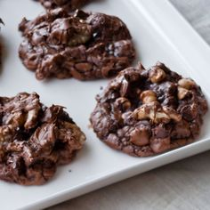Chocolate Peanut Butter Globs - Barefoot Contessa - leave out the peanut butter chips