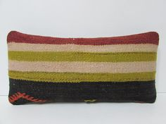 kilim pillow cover Turkish cushion sofa by DECOLICKILIMPILLOWS