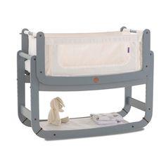 Snuzpod Bedside Crib- 3 in 1 (Grey) - Nurture Organics - 1