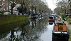 Regent's Canal, Maida Vale, London. My part of town.