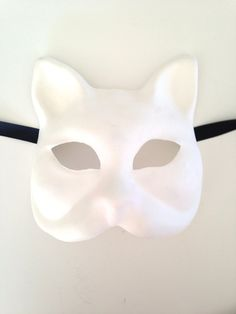 Blank Face Masks To Decorate Blank Masks To Decorate  Childs Mask  Blank Undecorated Masks