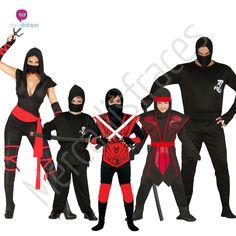 #disfraces de #ninja #disfraces de grupos o #comparsas perfectos para tus fiestas de #carnaval. En mercadisfraces tu tienda de #disfraces #online