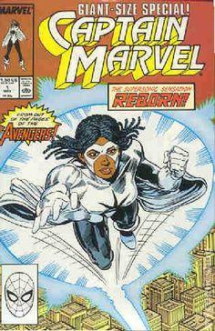 Captain Marvel (1989 2nd Series Marvel) 1