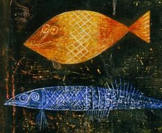 """Paul Klee Fish   Paul Klee , who I fell in love with the first time I saw his """"Fish ..."""