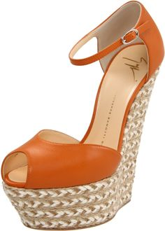 Giuseppe Zanotti Platform Sandal....cute but maybe I'm black instead of orange