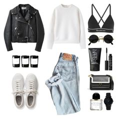 Unbenannt #642 by fashionlandscape on Polyvore featuring polyvore, fashion, style, Acne Studios, T By Alexander Wang, adidas Originals, Marni, Larsson & Jennings, NARS Cosmetics, Byredo and clothing