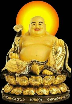A laughing Buddha placed reverently in a place of honour is good Feng Shui. Buddha Statue Home, Buddha Birthday, Buddha Face, Buddha Tattoos, Buddha Sculpture, Buddha Meditation, Buddhist Monk, Taoism, Durga Goddess