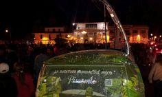 En el Carnaval de Cajamarca con la Piscombi!!! Salud!!!