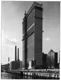 united nations secretariat building under construction november 1949