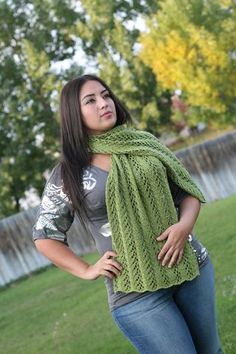 Friendship Shawl - Loom Knit