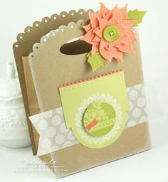Christmas gift packaging by Nichole Heady for Papertrey Ink (October 2011).