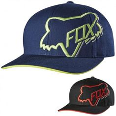 Fox Racing Timeout Youth Boys Flexfit Fitted One Size Caps Hats