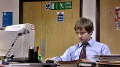"Tim, the UK ""Jim"" #theoffice"