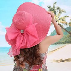 Cheap hat beard, Buy Quality hat sleeves directly from China hats restaurant Suppliers: 2017 Straw Hats For Women's  Female Summer Ladies Wide Brim Beach Hats Sexy Chapeau Large Floppy Sun Caps New Brand Spring Praia