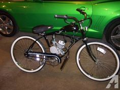 MOTOR BICYCLE ,,,motorized beach cruiser - $350