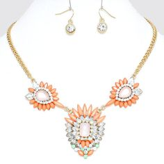 In Parentheses Necklace Set