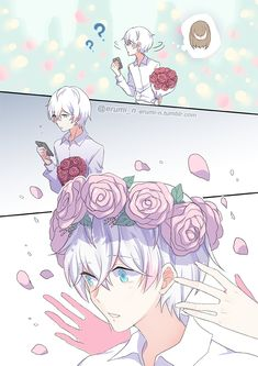 "Is this a manga? Or a webtoon? << it's a fan-comic based off the otome game 'Mystic Messenger""! (which is my all-time favourite otome game lmao) Seven Mystic Messenger, Mystic Messenger Unknown, Mystic Messenger Characters, Mystic Messenger Fanart, Saeran Choi, Cute Anime Couples, Cute Drawings, Webtoon, Anime Guys"