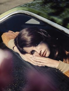 """""""They say I'm too young to love you, they say I'm too dumb to see, they judge me like a picture book by the colors like they forgot to read"""" Lana Del Rey """"Brooklyn Baby"""" Ultraviolence promotional photoshoot"""