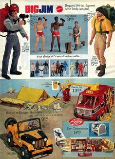 """Catálogo de """"Big Jim""""."""