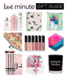 """Last Minute Gifting"" by mermadem8 ❤ liked on Polyvore featuring art"