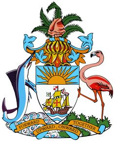 Coat of arms of the Bahamas.