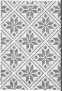 "Photo from album ""Жаккард"" on Yandex. Filet Crochet, Crochet Motifs, Crochet Chart, Crochet Doilies, Cross Stitch Borders, Cross Stitch Designs, Cross Stitching, Cross Stitch Embroidery, Cross Stitch Patterns"