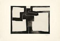 Eduardo Chillida (1924-2002), Inguru III, 1968. Aquatint mounted on China paper. Plate size: 43.2cm H x 59.4cm W. Sheet size: 63.7cm H x 89.8cm W. Edition of 60 copies.