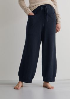 c553309b54 Recycled Cashmere Trousers