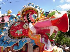 Chinese dragon head parade | Australia Interesting Stuff photos Travel Published May 31, 2011 at 3 ...