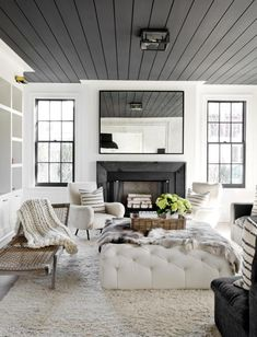 10 Beautiful Rooms Painted Black