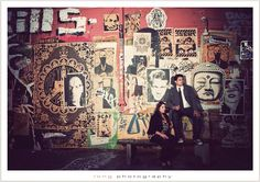 LA Art District! Love the Urban Engagement Photos!