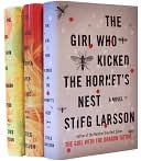 The Girl with the dragon tattoo, played with fire, and kicked the hornet's nest (trilogy)