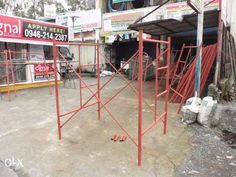 Scaffolding for sale and rent in Dasmarinas, Cavite Scaffolding Materials, Adjustable Base, Steel Structure, Steel Frame