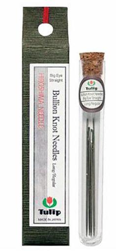 Notions - Tulip Needles - Bullion Knot Needles - Big Eye