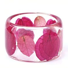 bougainvillea bangle <3 ... we love our flowers.  Here's a way to take them home and have them really last.  bigislandreale.com for homes and rentals to go with your floweriest accessories.