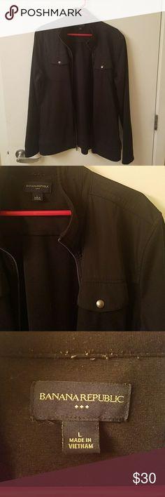 Banana Republic Lightweight jacket Large B Rep lightweight jacket. 2 normal jacket pockets and two button pockets Banana Republic Jackets & Coats