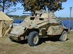 The 9th Reenactment Society - Our SdKfz 222 Armoured Car