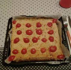 Ricetta di Paola Carelli per un pizza con base ... di cavolfiore!