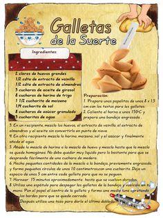 La galleta de la suerte o de la fortuna es una especie de galleta de paredes delgadas y crujiente que ha sido horneada, en su interio...