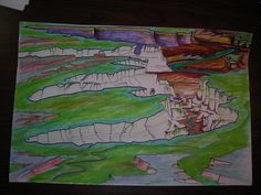 Turks head in Green, green River Overlook, Canyonlands National park, Utah.