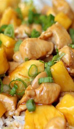 Teriyaki Chicken with Pineapple