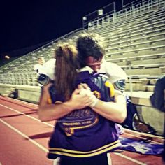 Last home football game boyfriend and girlfriend crying