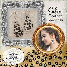 Plunder Design Jewelry  Sakia Earrings 931-224-9485