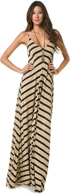 EIGHT SIXTY STRIPE MAXI DRESS > Womens > Clothing > Dresses   Swell.com