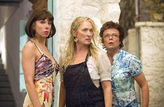 Julie Walters, Christine Baranski and Meryl Streep in Mamma Mia!