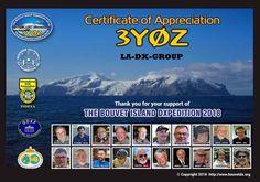 BOUVET ISLAND DXPEDITION 2018  QSL via N2OO
