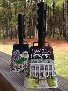Grad Gifts, Diy Gifts, Football Cowbells, Ms State University, Cheer Spirit, Mississippi State Bulldogs, Tri Delta, Auburn Tigers, College Life
