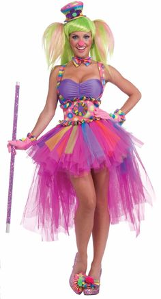 Tutu Lulu The Clown Adult Costume Adult -- totally your halloween costume this year :)