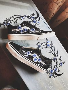 Embroidered Vans