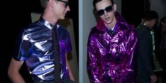 Men's SS'13 trend report : Metallic